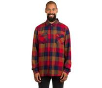 Box Flannel Shirt LS toffee