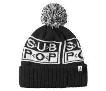 Sub Pop Beanie schwarz