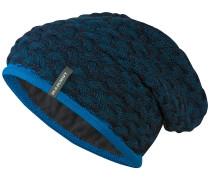 Trift Beanie blau