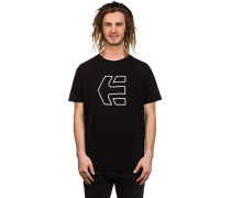 Icon Outline T-Shirt schwarz