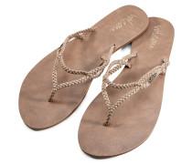 Party Sandalen Frauen braun