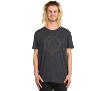 Pinlinestone Heather T-Shirt schwarz