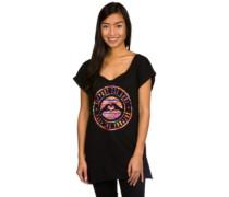 Stamped Logo Tribe T-Shirt black