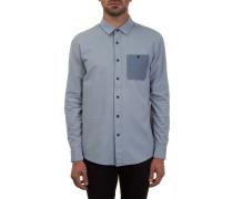 Hadley Solid Hemd blau