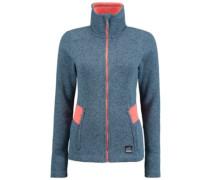 Piste Full Zip Fleece Jacket bluestone