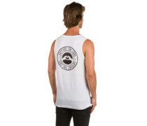 Stamped Logo Hip Tank Top white