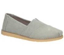 Alpargata Crepe Slippers Women drizzle grey washed canva