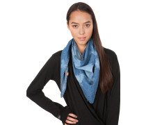 Stardust Denim Scarf Women blau