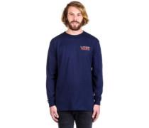Peanuts Holiday T-Shirt LS navy