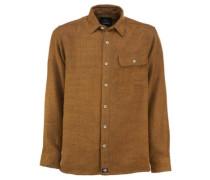 Lewisburg Shirt LS brown duck