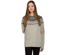 Ívik Knit Sweater grau