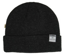 Removable Bubble Basic Melange Beanie grau