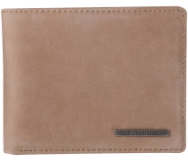 Agent Leather Wallet braun