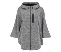 Inspire Cape Cardigan silver melee