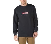 Side Waze Crew Sweater black heather