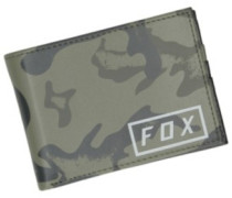 Camo Pinned Pu Wallet camo