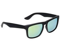 Squared Off Black Sonnenbrille schwarz