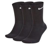 Everyday Cush Crew 3P Socks white