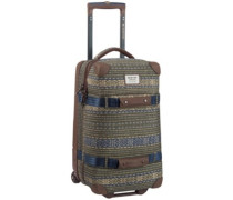 Wheelie Flight Deck Travelbag tanimbar print