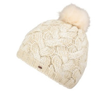 Foxy Beanie powder white