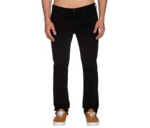 V76 Skinny Jeans schwarz
