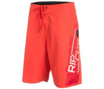"Shock Games 21"" Boardshorts hot coral"