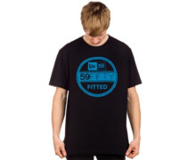 Visor Sticker T-Shirt turk blue