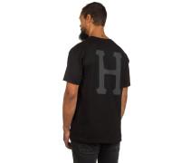 Classic H T-Shirt schwarz