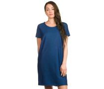 Branddis Jersey Kleid blau