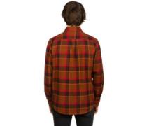 Gower Woven Shirt LS brown