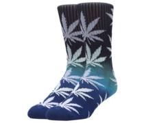 Gradient Plantlife Socks blue
