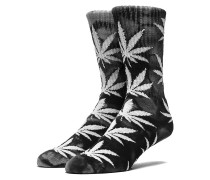 Tie Dye Plantlife Crew Socken schwarz
