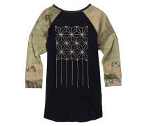 Caratunk Raglan T-Shirt schwarz