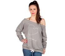 Let's Hook Up Sweater grau