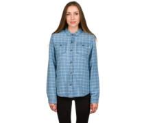 Shepherd Sherpa Flannel Shirt LS dutch blue plaid