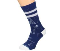 Navigtor Socks blue