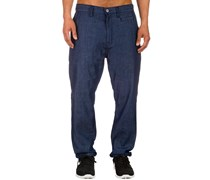 Rebellion Hose blau