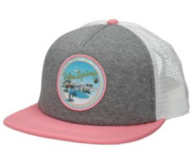 Lawn Party Trucker Cap grey heather