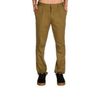 B-Pleat Pants dark khaki