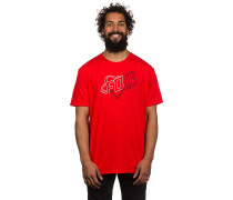 Riders Crew Tech T-Shirt rot