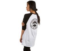 Raglan Stamped Hip T-Shirt weiß