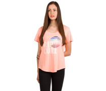 Sun And Surf T-Shirt pink