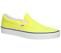 Classic Neon Slip-Ons tr wht
