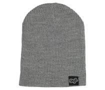 OG Logo Knit Beanie grau
