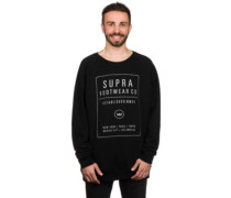 Quad Crew Sweater black