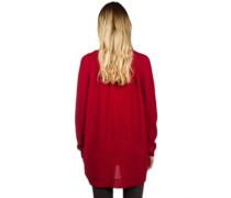 Jazzie Knit Cardigan camine red