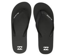 Tides Solid Sandals black