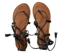 Around The Sun Sandals Women black