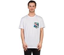 Shrub Pocket T-Shirt weiß