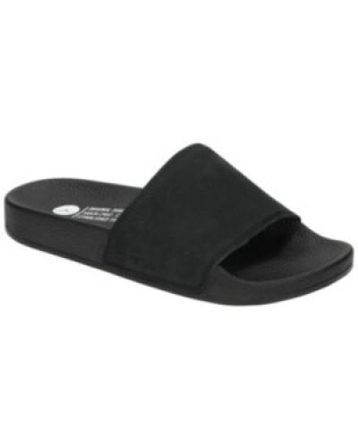 Nubuck Sandals black